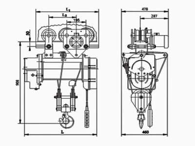Таль ТЭ 200 Схема